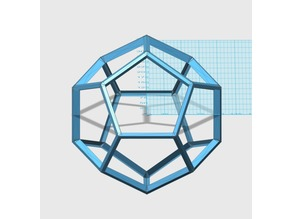 Dodecahedron Space Frame Model
