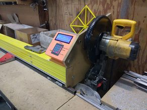 Automated Chopsaw fence for muntins