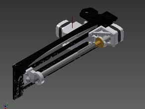 QU-BD OneUp/TwoUp - Extruder and X-Axis Redesign
