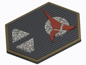 Klingon Com Badge (Star Trek)