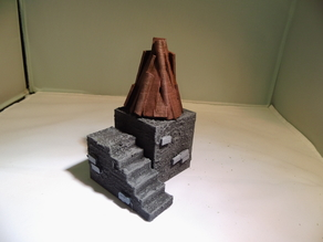 28 mm warhammer scale - signal beacon - object point