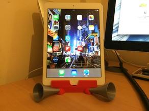 iPad Air Horn - Passive Amplifier Stand