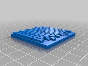 50mm x 50mm brick paver base