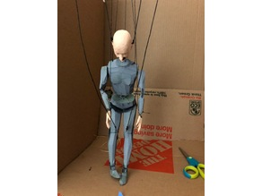 Marionette String Puppet