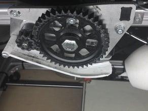 Dirt catcher for K8200 gear