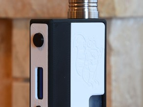 Box Mod YiHi SX350J bottom feeder (left squonkers)
