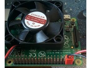 Connecteur de ventilateur pour Raspberry Pi / Fan connector