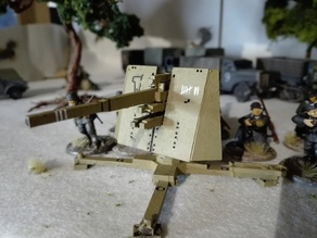lasercut 28mm flak 88