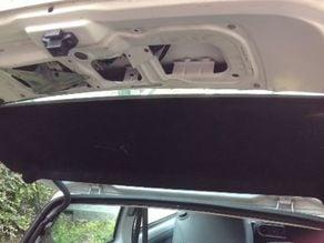 parts of TWINGO Renault car trunk - Coffre arriere de twingo