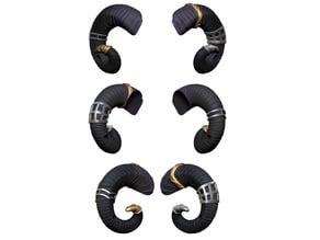 Mollymauk Horns (Critical Role)