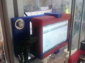 Holder for Case for Waveshare 5inch HDMI LCD V2 and PI 2