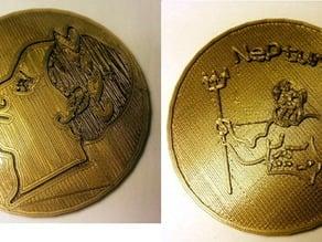Roman Coin Replica