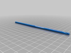 My Customized Parametric crochet hook 3.5