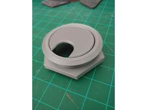 Threaded Desk Grommet - 2.5""