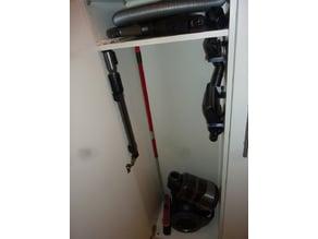 Vacuum cleaner storage organizer
