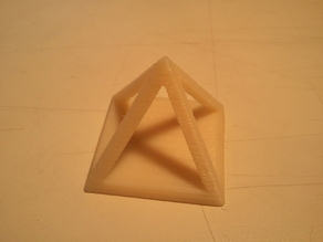 Hollow Calibration Pyramid