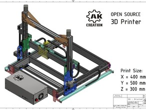 3D Printer - CNC Mill - Big Size