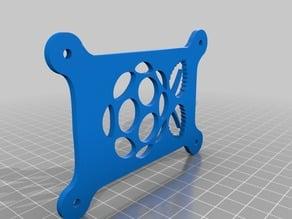 Stackable Raspberry Pi Rack