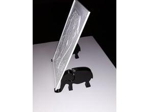 Lithophane Elephant