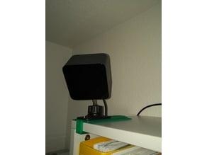 HTC Vive base station shelf mount