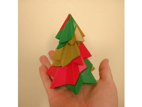 Candy Cane Christmas Tree - 3 Colours - Single Extruder