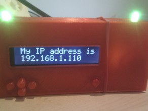 Arduino Ethernet, LCD and Servo