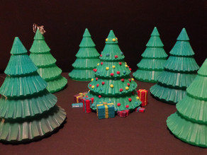 Multi-part Christmas Tree