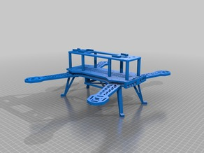 Fully printable 350mm drone frame (Race or FPV)