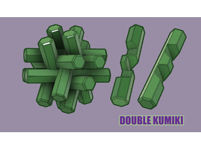 Double Kumiki Puzzle