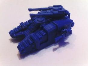 Tank 5 petits échelle