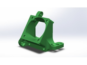 Fan and Bl Touch Front Mount (Anet A6)