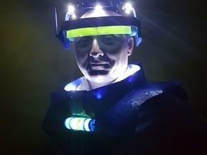 Retro Space suit costume prop