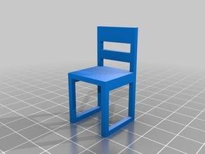 Bridge test chair