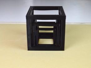 The triple cube bridge test