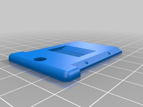Lid for SD Card Case by FollyMaker
