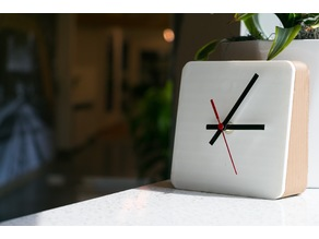 DIY 3D Printed Clock