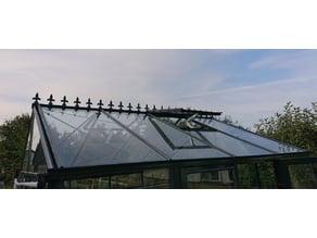 Greenhouse Roof Ridge Cresting