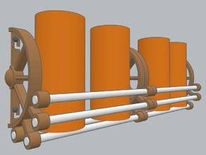 Spice Shelf / Rack - Cartwheel