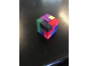 Pretty Difficult Puzzle Cube