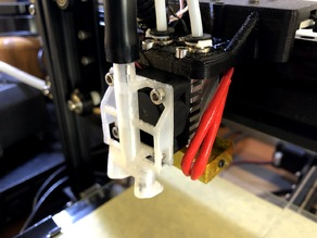 TEVO Tarantula Compressed Air Nozzle for stock dual extruder.