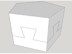 Impossible Dovetail in a Pentagon