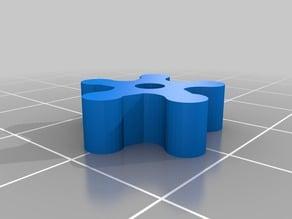 Cogwheel, FreeCAD, parametric