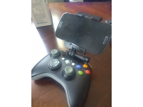 Xbox 360 Wireless Controller Phone Mount