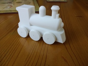 Wood-style trains