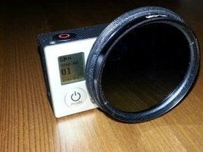 GoPro3/3+ 52mm filter holder/adapter