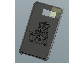 Galaxy S6 King Bob Minion Phone Case