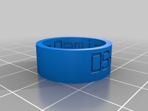 My Customized Ring - dsk size 8
