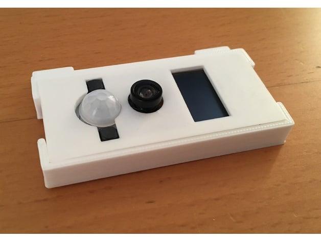 ESP32 WRover TTGO camera box by hermanb - Thingiverse