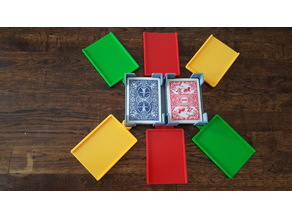 Card Game Holder - Hand and Foot Canasta