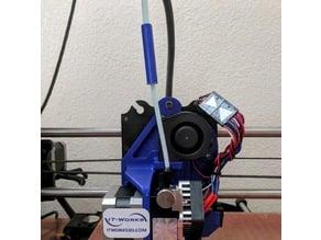 Palette+ E3D Titan and Titan Aero PTFE tube adaptor